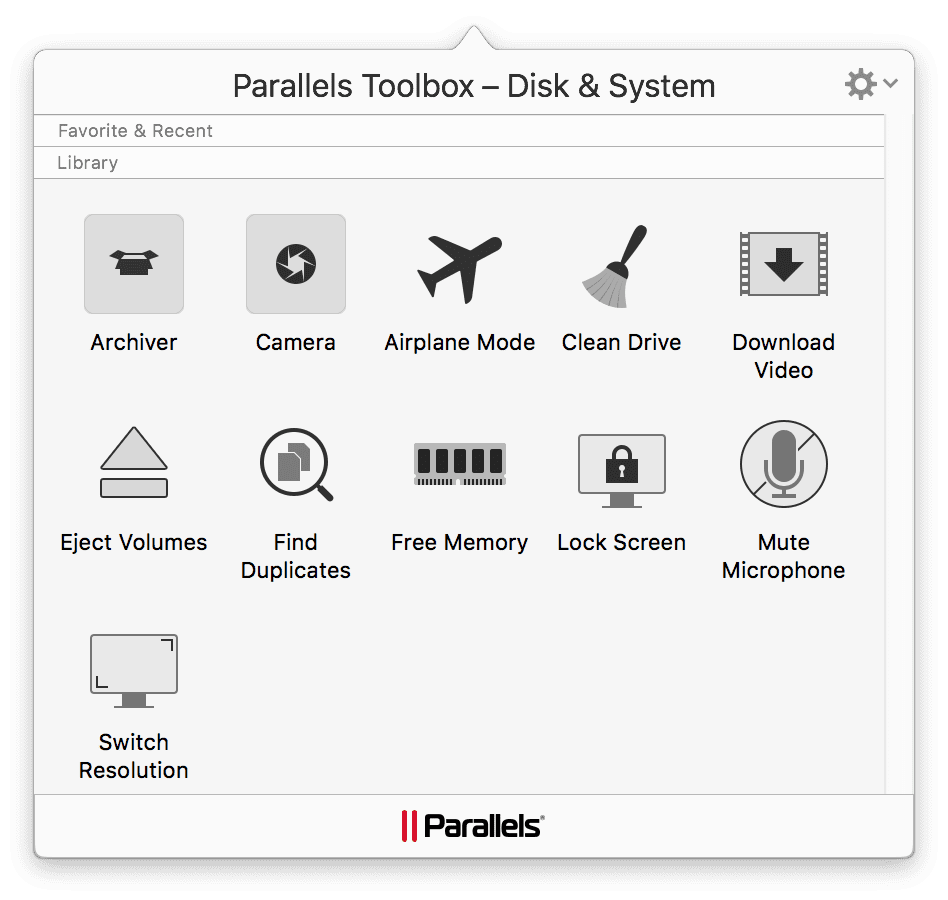 macOS disk system tools