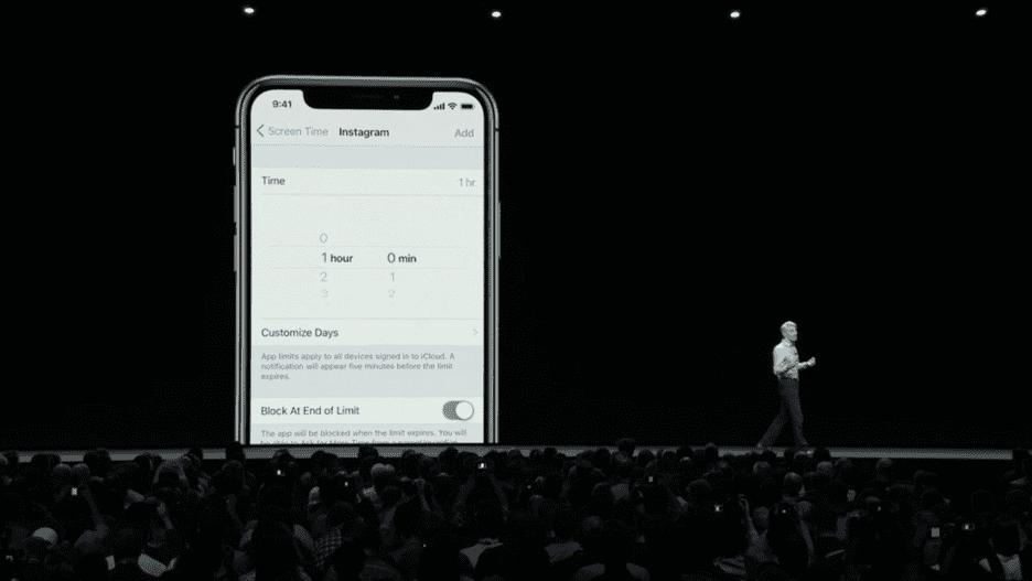Screen Time iOS