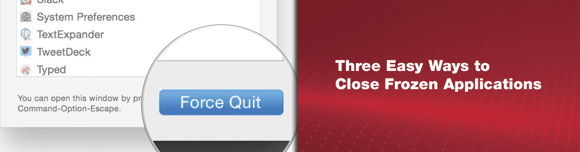 Force Quit on a Mac: 3 Easy Ways to Close Frozen Applications