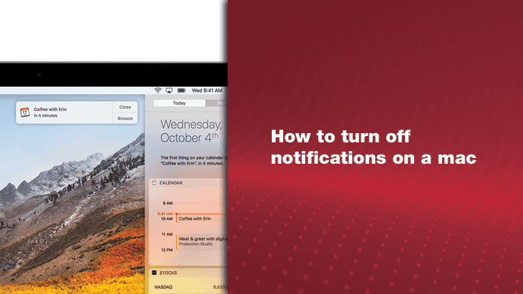 How to Turn Off Notifications on a Mac