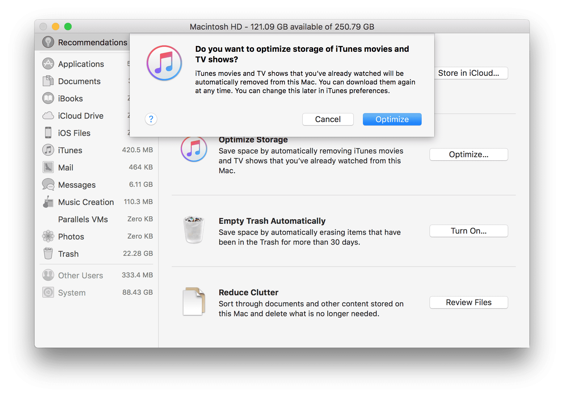 iTunes Storage macOS Tools