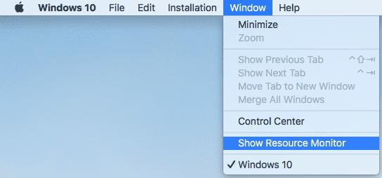 Resource Monitor Virtual Machine