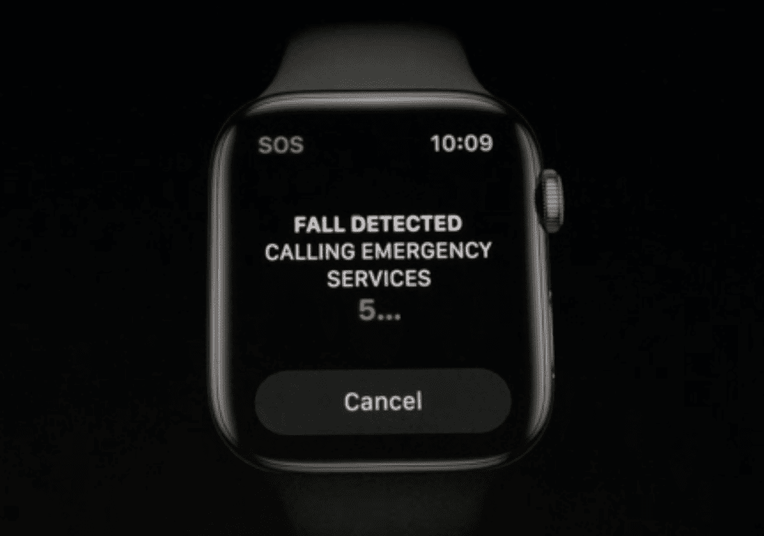 watchOS Fall Detection