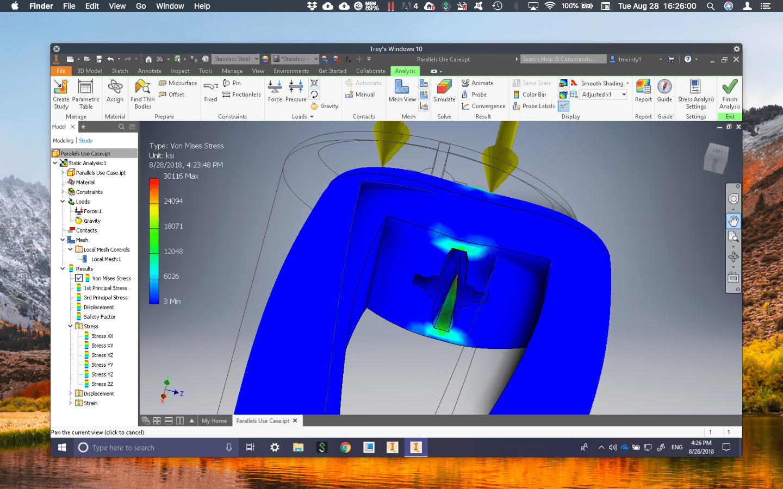 Surprising Autodesk Inventor 2019 On Mac Parallels Blog Download Free Architecture Designs Embacsunscenecom