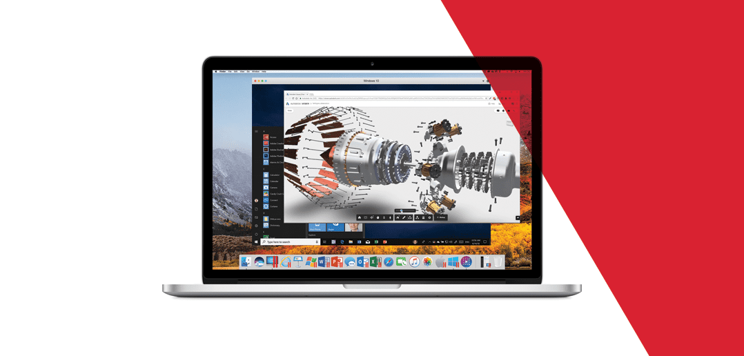Run Autodesk Inventor Professional 2019 on Mac with Parallels Desktop