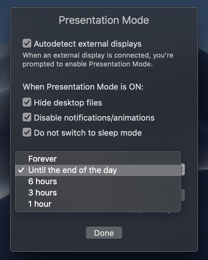 presentation macOS tool