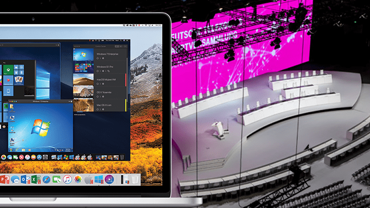 Tackling Event Production with Windows Software on Mac
