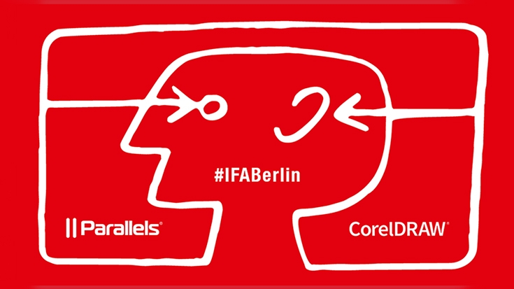 Parallels and CorelDRAW at IFA 2019 in Berlin