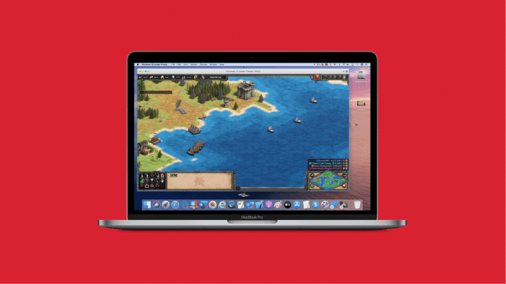 Age of Empires II on Mac and Parallels Desktop