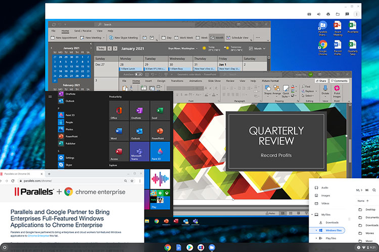 Parallels Desktop for Chromebook Enterprise