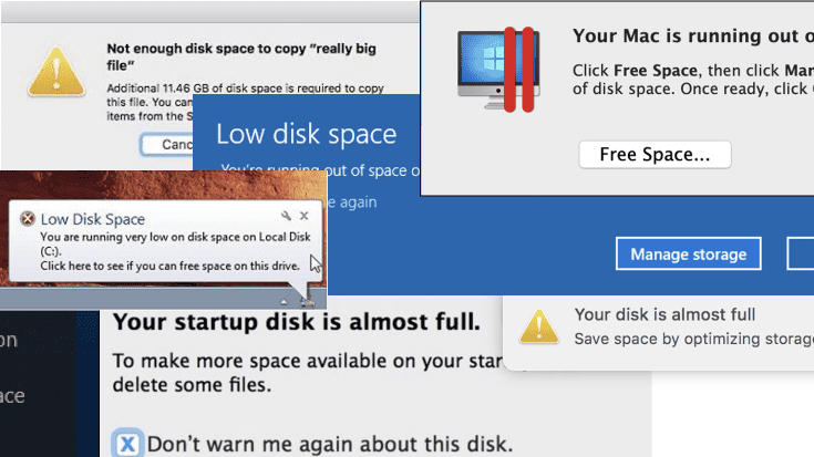 """New to Parallels Desktop? Learn How to Handle """"Out of Space"""" Warnings."""