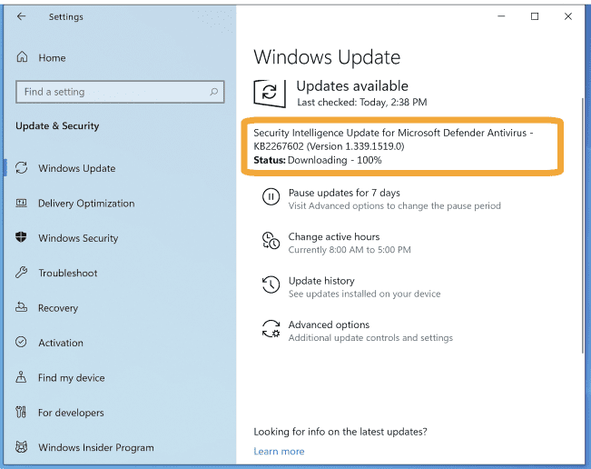 _Getting-updated-virus-definitions-for-Windows-Defender