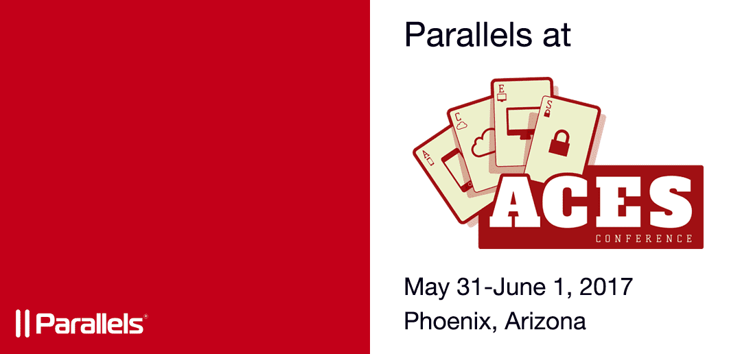 Parallels Team Excited to Guest Sponsor ACEs Conference