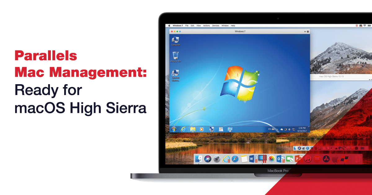 Parallels Mac Management Is Ready for macOS High Sierra