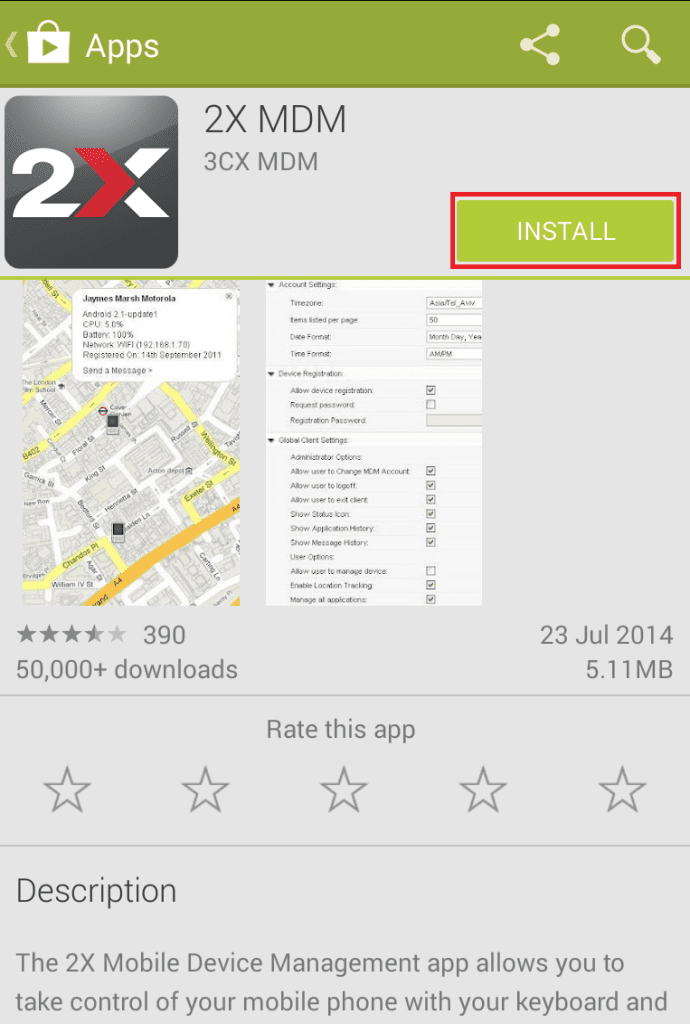 Play Store Install