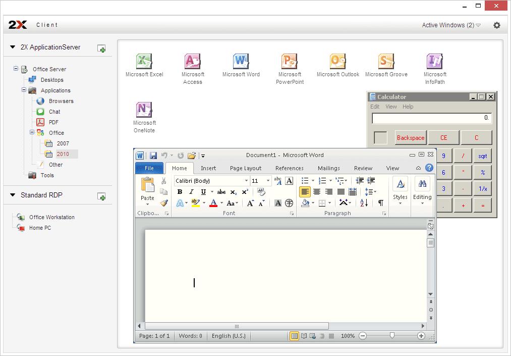 2X RDP CLIENT for Chrome