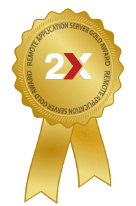 2X RAS V14 Award: GOLD from VirtualizationAdmin.com