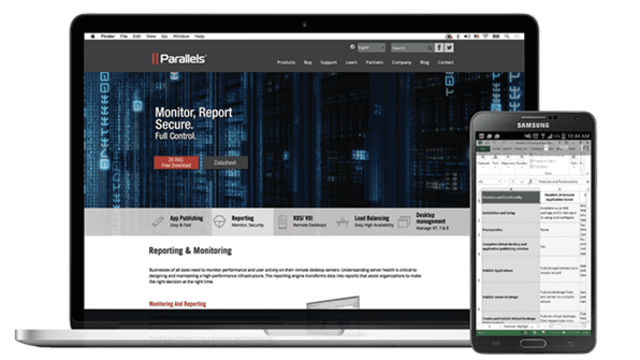 With Parallels 2X RAS, There'