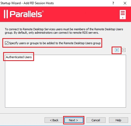 Phase 3 – Configuring RDSH and Publishing Agents - Parallels