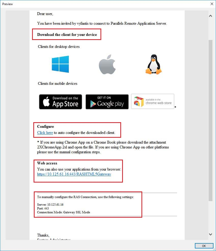 phase 5 invite users parallels remote application server blog rh parallels com
