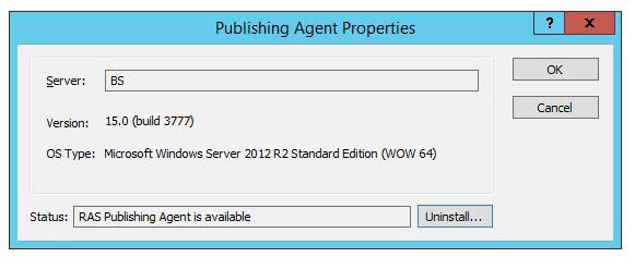 Publishing Agent 6