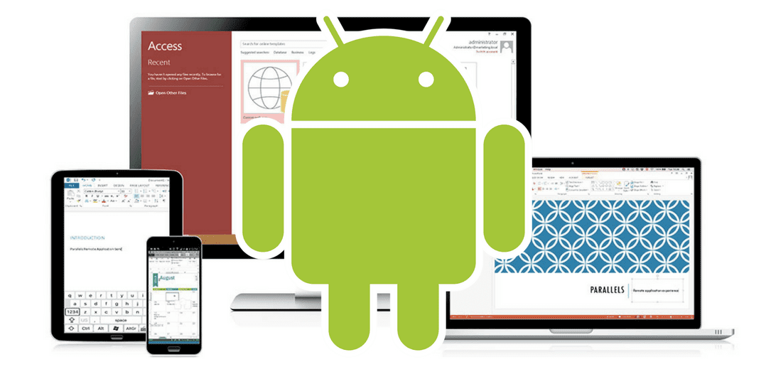 Parallels Android Client: How to use it