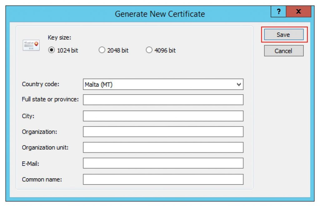 How To Generate A Self Signed Certificate Using Parallels Ras
