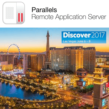 Parallels RAS Showcase at HPE Discover 2017-Las Vegas