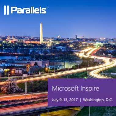 Parallels Team Will Attend Microsoft Inspire 2017 in Washington DC