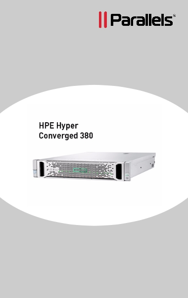 Parallels RAS combines with HPE Hyper Converged 380
