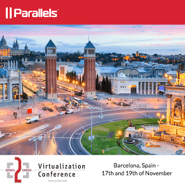 Parallels Remote Application Server is attending the E2EVC Virtualization Conference in Barcelona