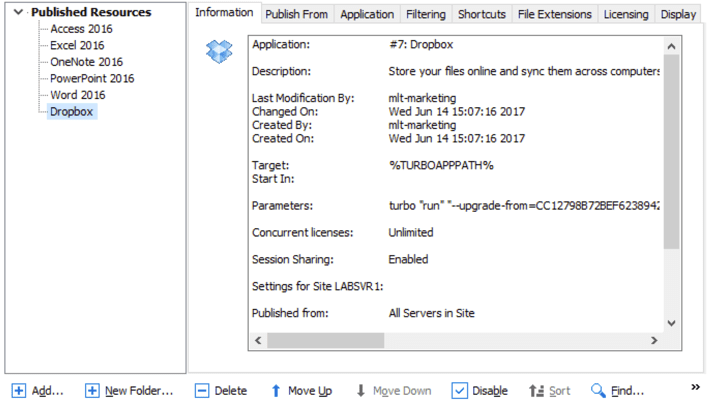 Provisioning Applications Using Turbo.net Hub