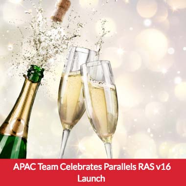 APAC Team Celebrates Parallels RAS v16 Launch with Partners in Melbourne