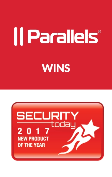 Parallels RAS Wins Security Today's New Product of the Year Award
