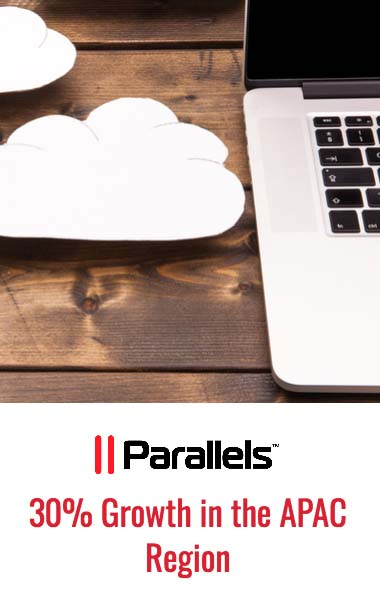 Parallels Grew Its Partner Ecosystem by 30% in the APAC Region Last Quarter