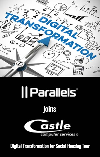Join Parallels on Castle Computer Services' Digital Transformation for Social Housing Tour