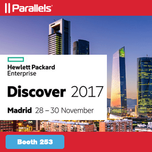 Join the Parallels Team at the Hewlett Packard Enterprise Discover 2017
