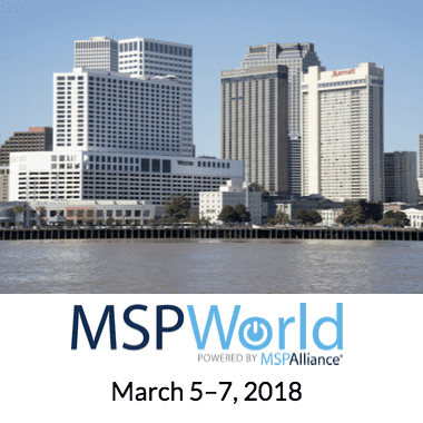 Parallels RAS Team at MSPWorld 2018 Conference