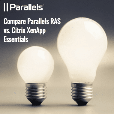 Citrix Azure: Compare Parallels RAS vs. Citrix XenApp Essentials