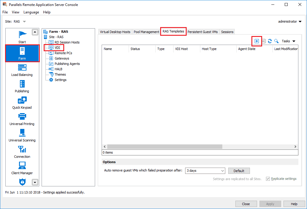 How to Create a Parallels RAS Template - Parallels Remote ...