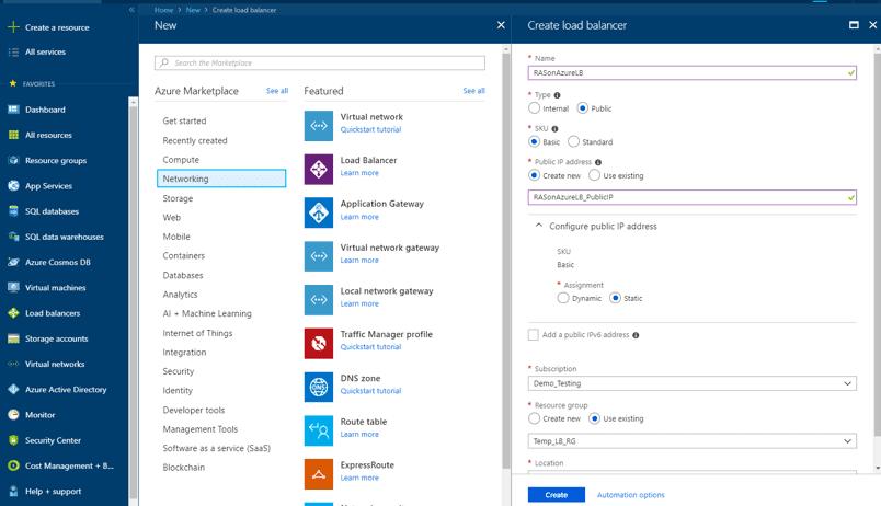 Load Balancer | Microsoft Azure