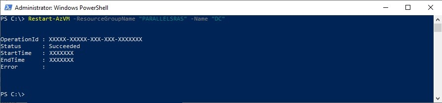 Figure 3 - Getting started with Azure PowerShell