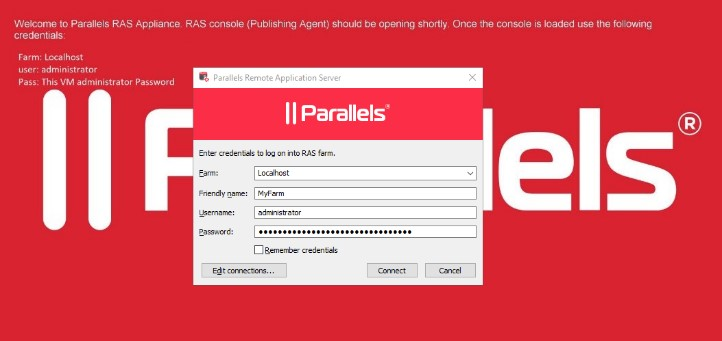 Figure 7 - Deploy Parallels RAS from AWS Marketplace