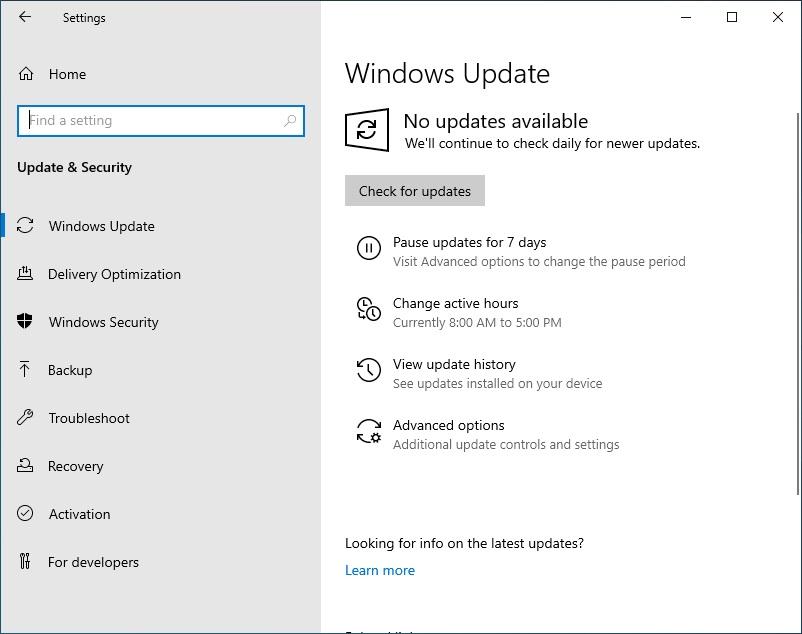 Figure 3- How to Fix the Windows Virtual Desktop Black Screen