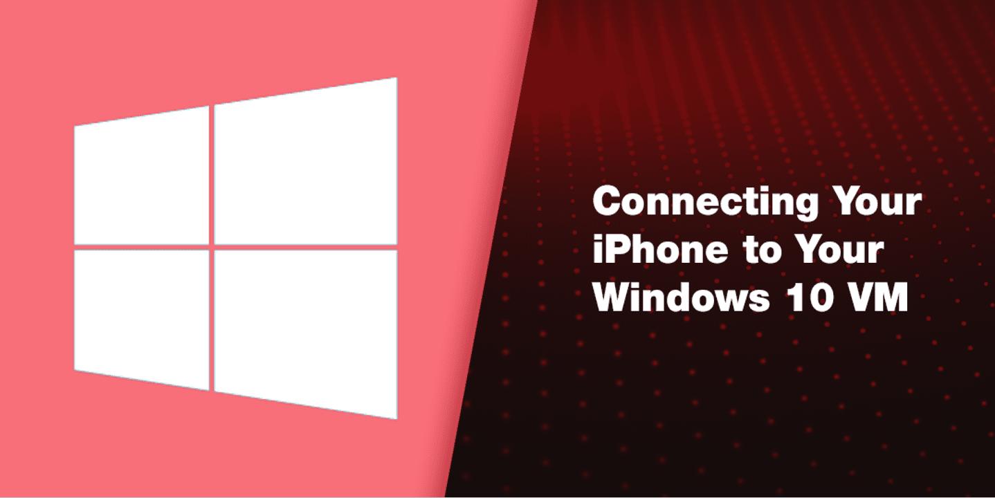 iPhone直连Windows虚拟机,iTunes哭晕在厕所