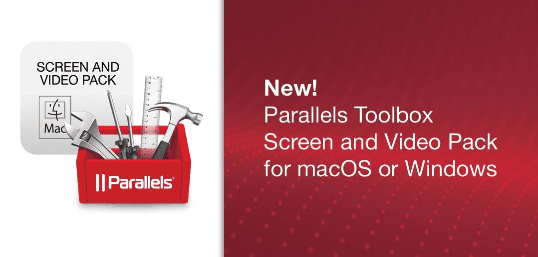 全新Parallels Toolbox for macOS 及 Parallels Toolbox for Windows,只需一键单击,即可节省宝贵时间。