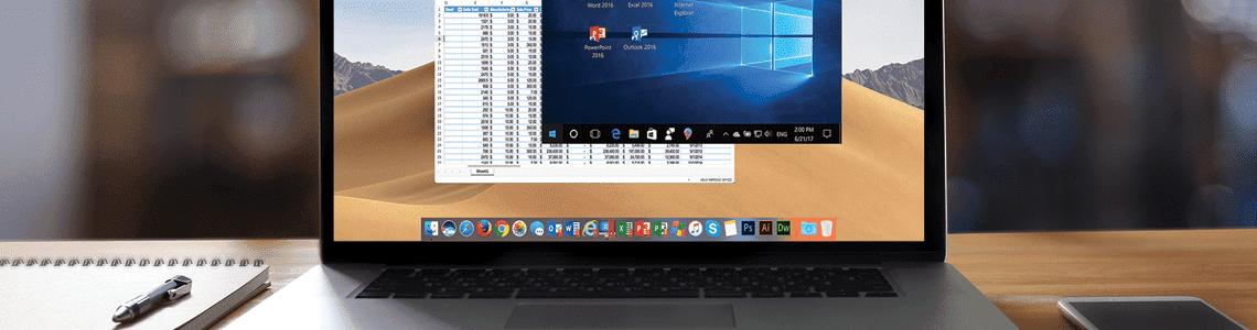 教你如何使用Parallels Desktop 「融合」模式