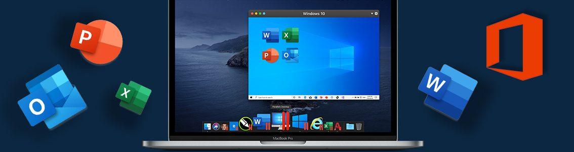 如何在Mac上运行Windows版的Microsoft Office,使用Parallels Desktop 虚拟机