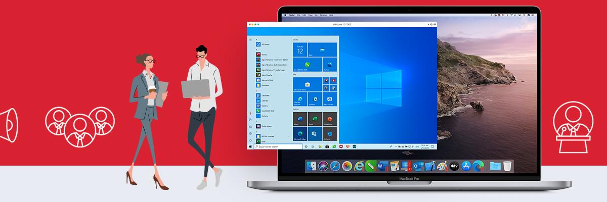 9折限时优惠 – Parallels Desktop 2021促销