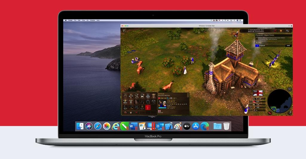 如何在装有 Parallels Desktop 的 Mac 上运行全新的帝国时代 III 终极版